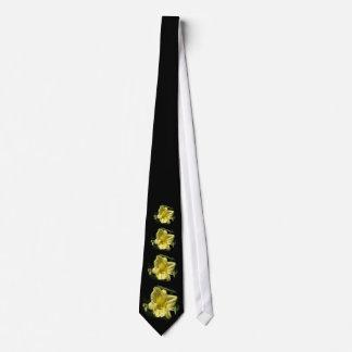 Yellow Daylily Flower Hemerocallis Tie