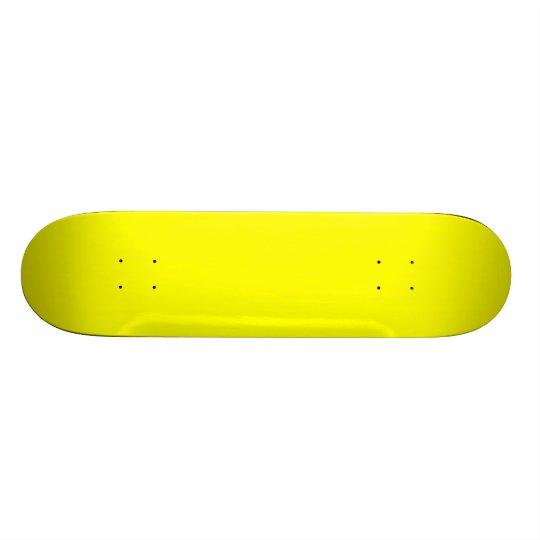Yellow Deck Skateboard Decks