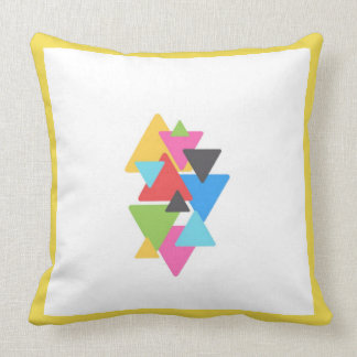 Yellow Deco Throw Pillow