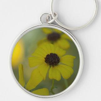 Yellow Desert Wild Flower Classic Key Chain
