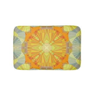 Yellow Design bath rug