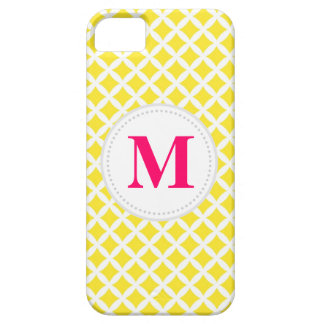 Yellow Diamonds iPhone 5 Cover
