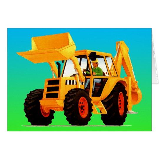 Yellow Digger Card