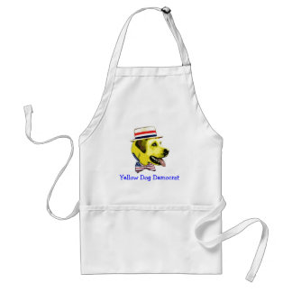 Yellow Dog Democrat Standard Apron