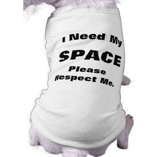 Yellow Dog Give Me Space Shirt Dog Tee