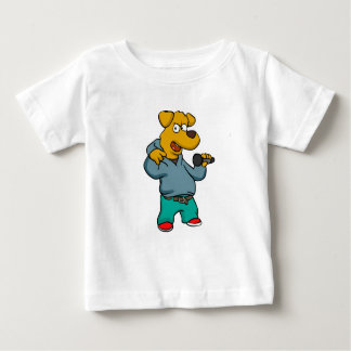 Yellow dog rapper baby T-Shirt