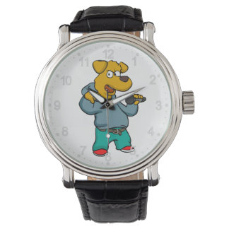 Yellow dog rapper watch