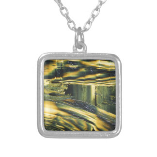 Yellow Dog Silver Plated Necklace