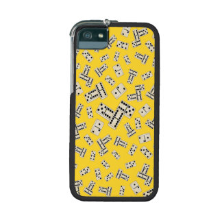 Yellow dominos iPhone 5 case