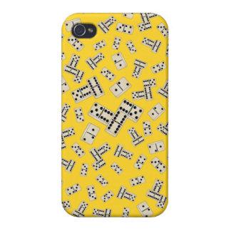 Yellow dominos iPhone 4/4S case