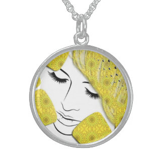 Yellow Dream Sterling Silver Necklace