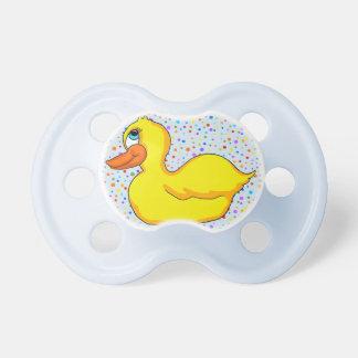 Yellow Duck Pacifier
