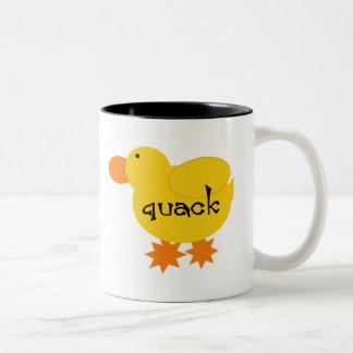 Yellow Duck Quack Mug