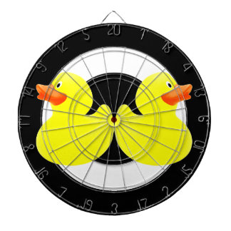 yellow ducks dartboard