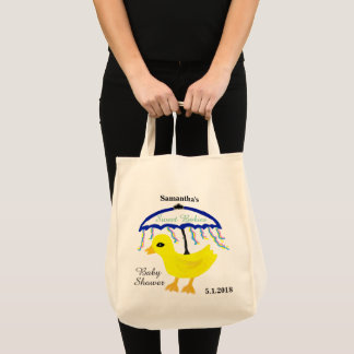 Yellow Ducky Baby Shower Umbrella Multiples Tote Bag