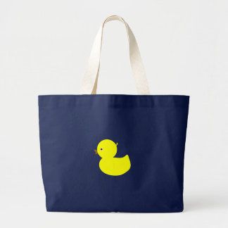 Yellow Ducky Large Tote Bag