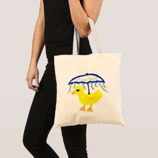 Yellow Ducky Sweet Baby Tote Bag