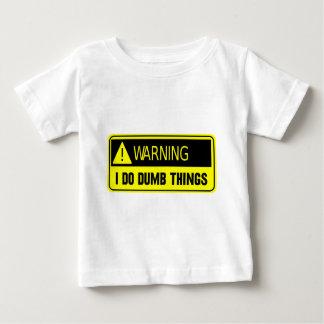 YELLOW DUMB BABY T-Shirt