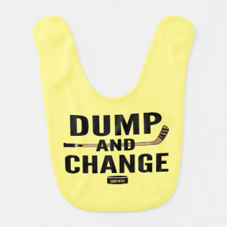 Yellow Dump and Change Hockey Bib