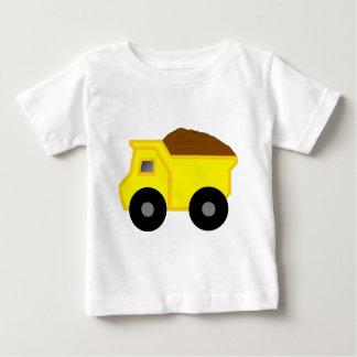 Yellow Dump Truck Baby T-Shirt