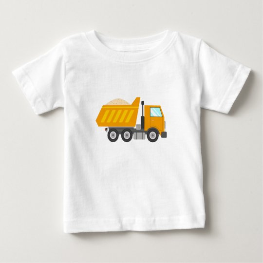 Yellow Dump Truck for Kids Baby T-Shirt