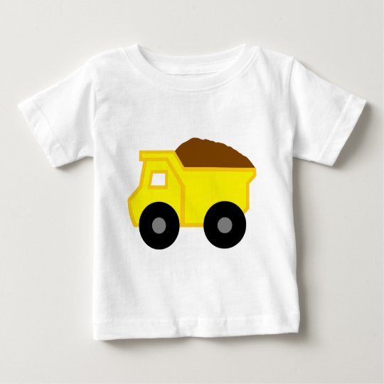 Yellow DumpTruck Baby T-Shirt