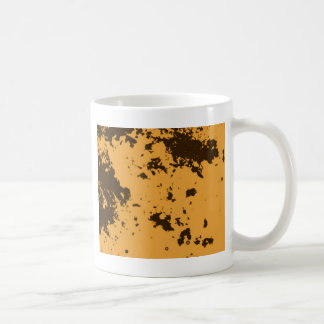 Yellow Duotone Pattern Coffee Mug