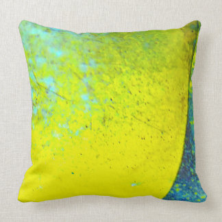 Yellow Eclipse Pillow