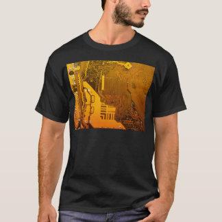 yellow electronic circuit board.JPG T-Shirt