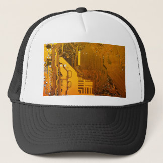 yellow electronic circuit board.JPG Trucker Hat