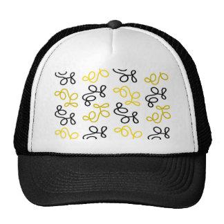 Yellow elegance trucker hat