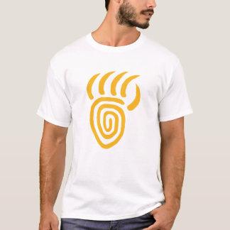 Yellow Emergence Bear Paw Smaller T-shirt