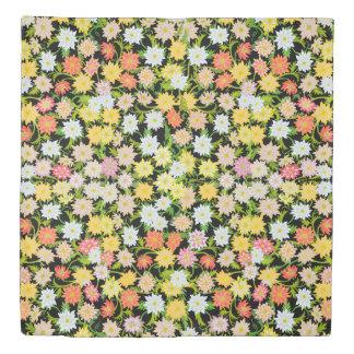 Yellow English Garden Floral Duvet Cover