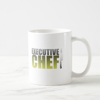 Yellow Executive Chef Coffee Mug