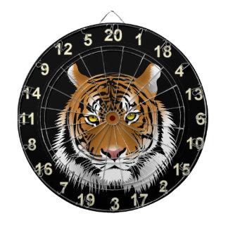 Yellow eye tiger dartboard