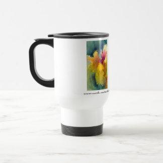 Yellow Fairy Iris Insulated Travel Mug
