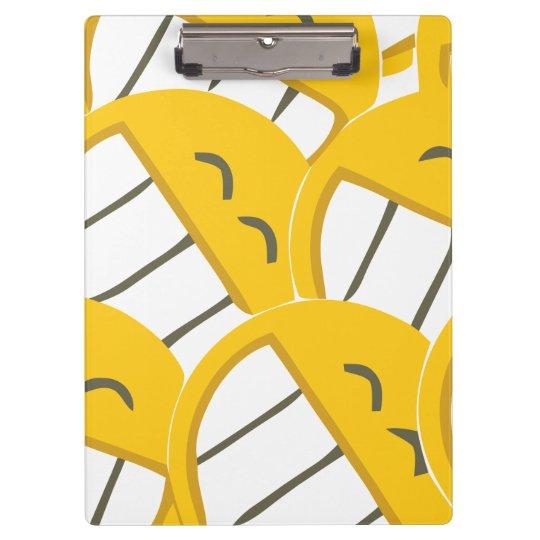 Yellow Family Clipboard