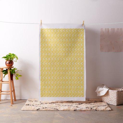 Yellow Family Fabric