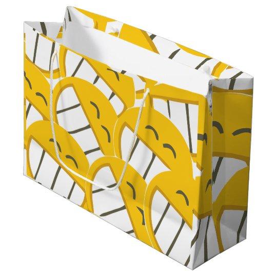 Yellow Family Large Gift Bag