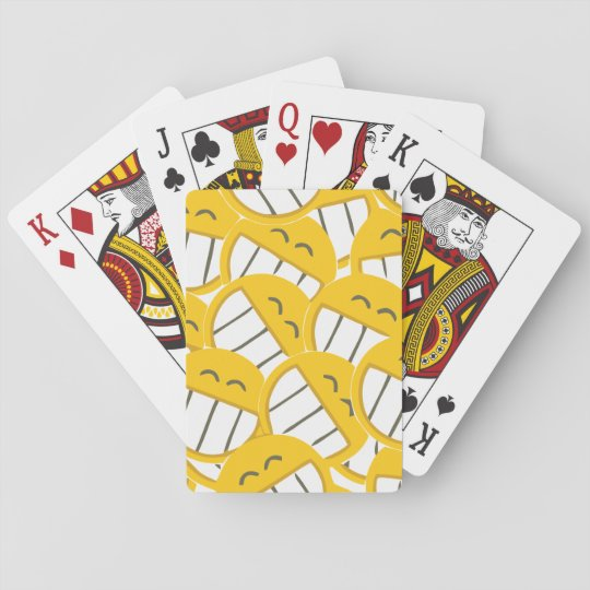 Yellow Family Playing Cards