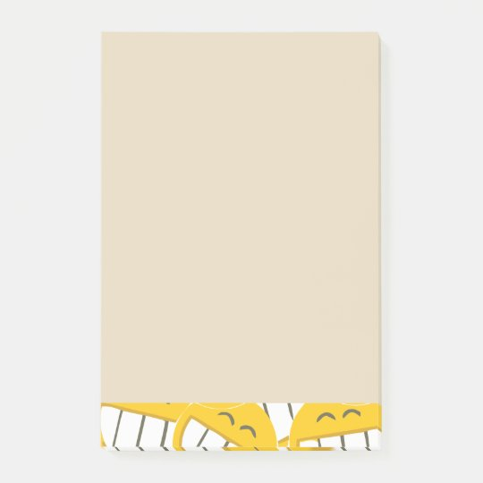 Yellow Family Post-it Notes