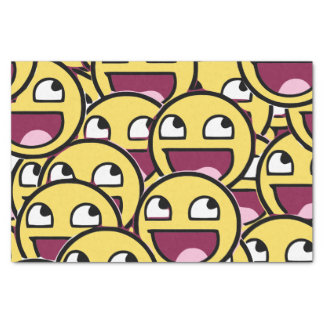 Yellow Family Tissue Paper
