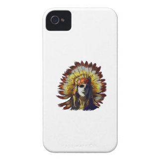 Yellow Feather iPhone 4 Cover