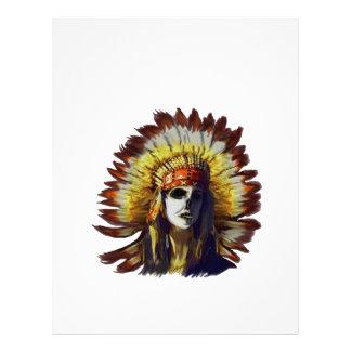 Yellow Feather Letterhead
