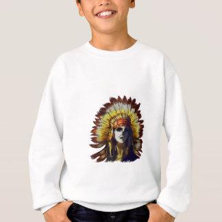 Yellow Feather Sweatshirt