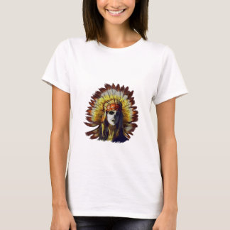 Yellow Feather T-Shirt