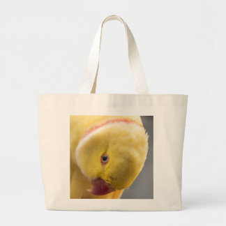 Yellow Fellow Large Tote Bag
