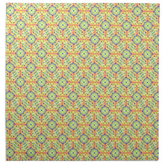 Yellow Festival Pattern Napkin