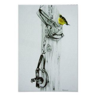 """Yellow Finch"" Print"