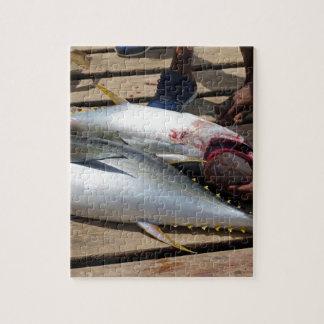 yellow fins tuna jigsaw puzzle